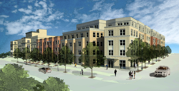 Rendering of Spring Flats, future community to feature senior living and plentiful amenities