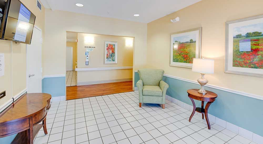 Victory Lakeside hallway, a Victory Housing Location.